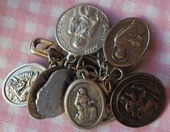 saints medals