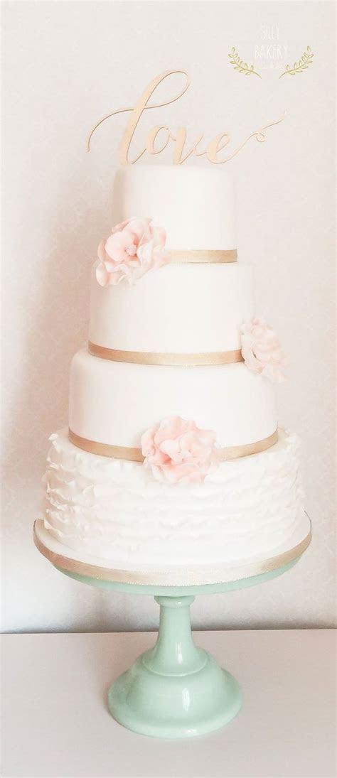 24 Perfectly Divine Wedding Cakes   Romantic wedding cakes