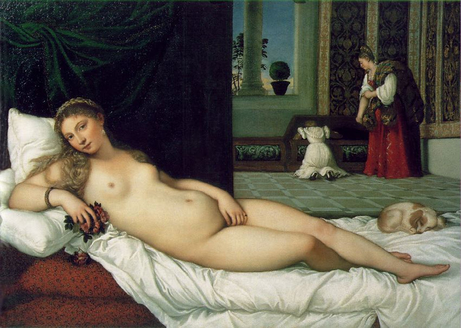 Titian — The Venus of Urbino