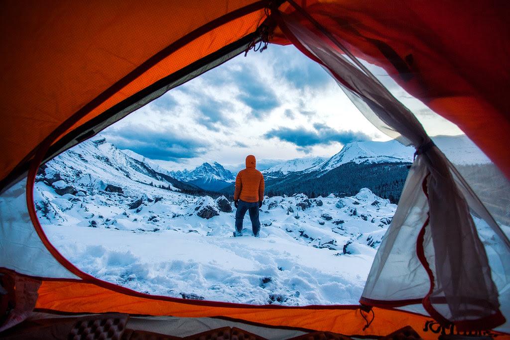 Banff Tent Photo by Michael Matti