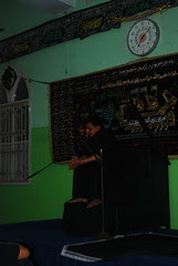 Dr Abbas Ali Mir Son of Late Ali Master Recites Majlis at Chota Naksha by firoze shakir photographerno1