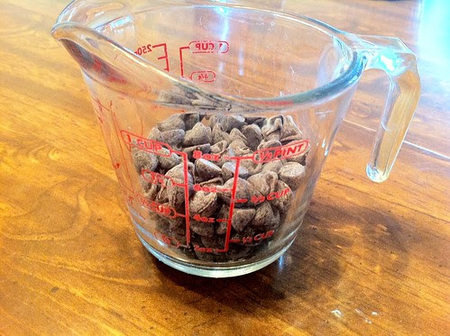 1/2 Cup Semi-Sweet Chocolate Chips