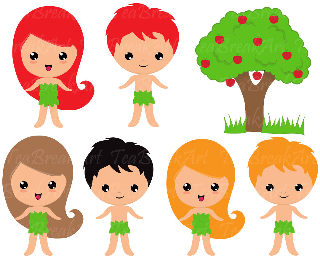 Adam And Eve Silhouette At Getdrawingscom Free For Personal Use