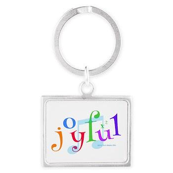 Joyful X 2 Landscape Keychain Keychains
