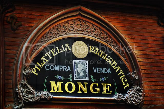 Monge, Philately and Numismatic Store, Barri Gotic, Barcelona [enlarge]