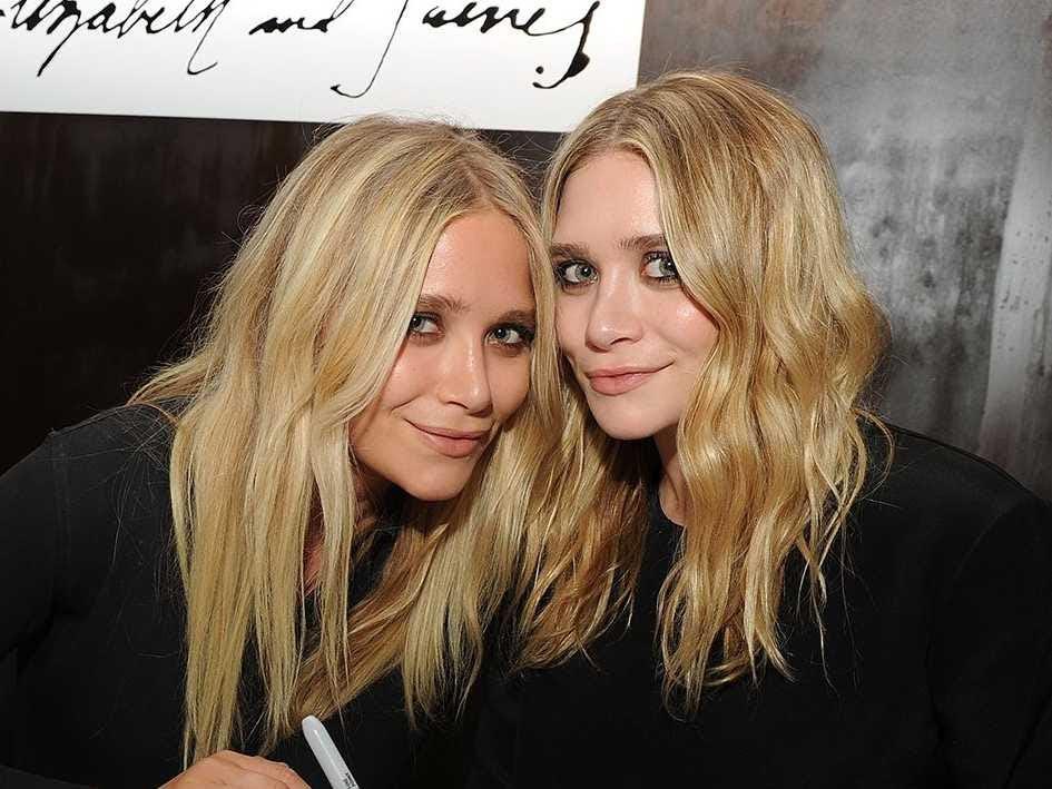 AGE 28: Mary-Kate and Ashley Olsen