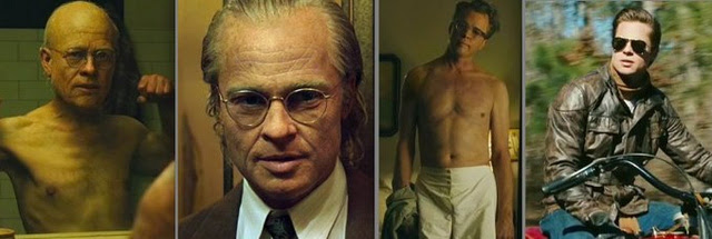 Image result for brad pitt every age button