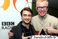 Daniel Radcliffe on BBC Radio 2's The Chris Evans Breakfast Show