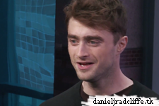 Daniel Radcliffe on Extra