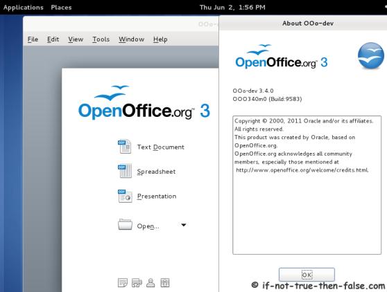Fedora user grup install openoffice 3 3 0 3 4 0 on fedora - Open office download for windows 7 64 bit ...