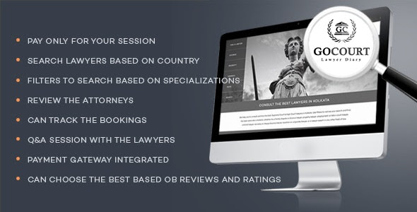 GOCOURT - Online Lawyer Booking Solutions
