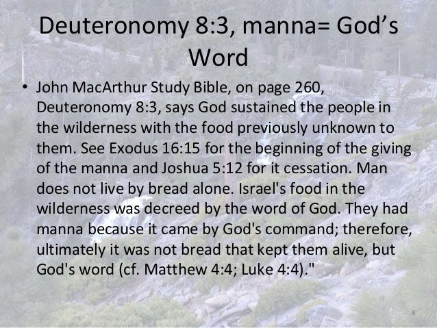 Image result for God's command about the Manna
