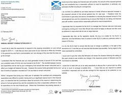 Fergus Ewing to SLCC - Ministerial threat