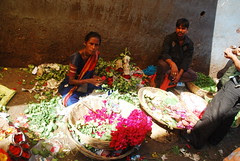 Gods Would Get Cold Feet Coming to This Filthy Market of Flowers by firoze shakir photographerno1