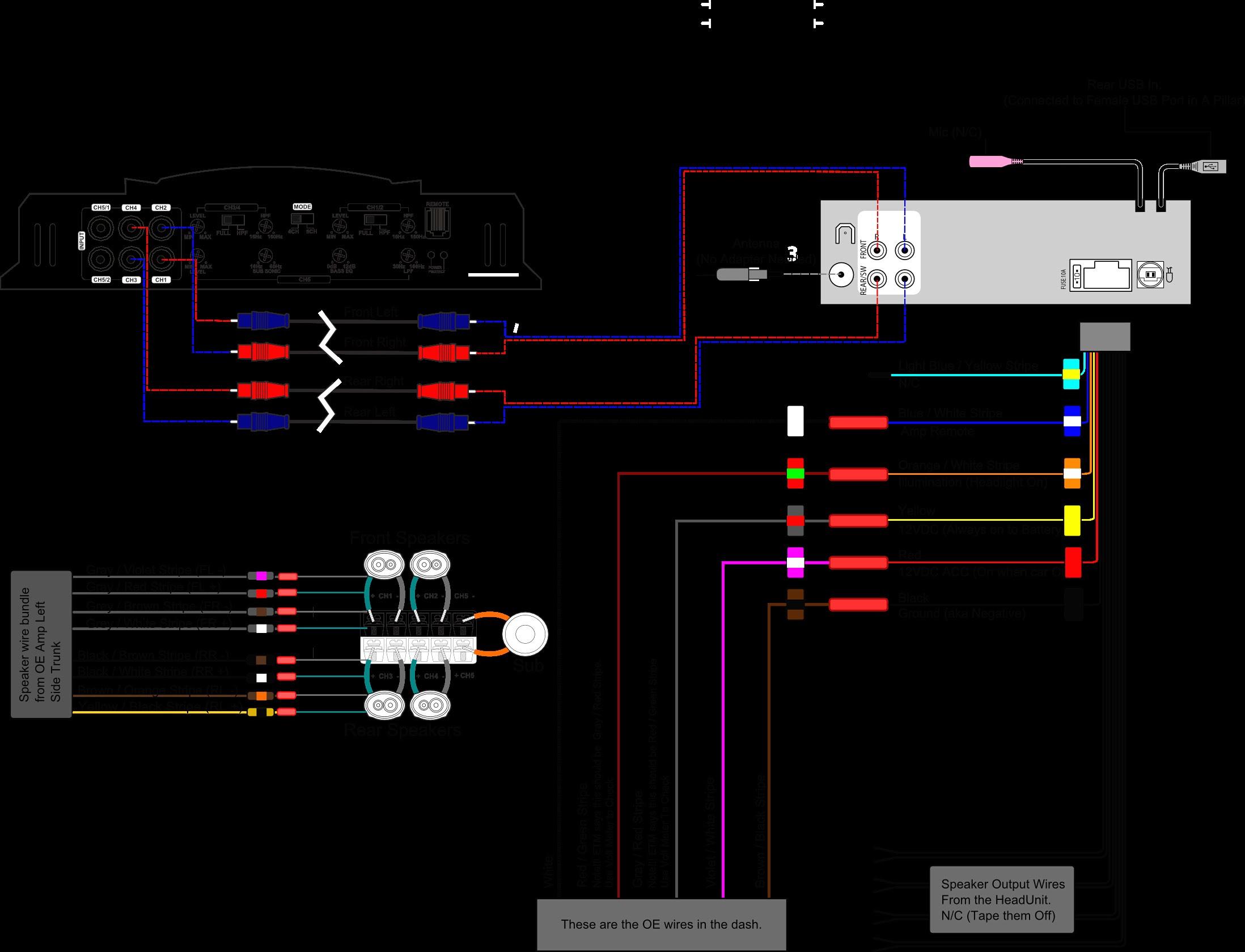34 Pyle Hydra Amp Wiring Diagram