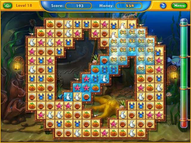 Fishdom Spooky Splash Free PC Game Screenshot