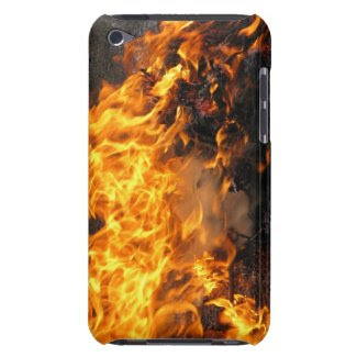 Burning Brush iPod Case-Mate Case
