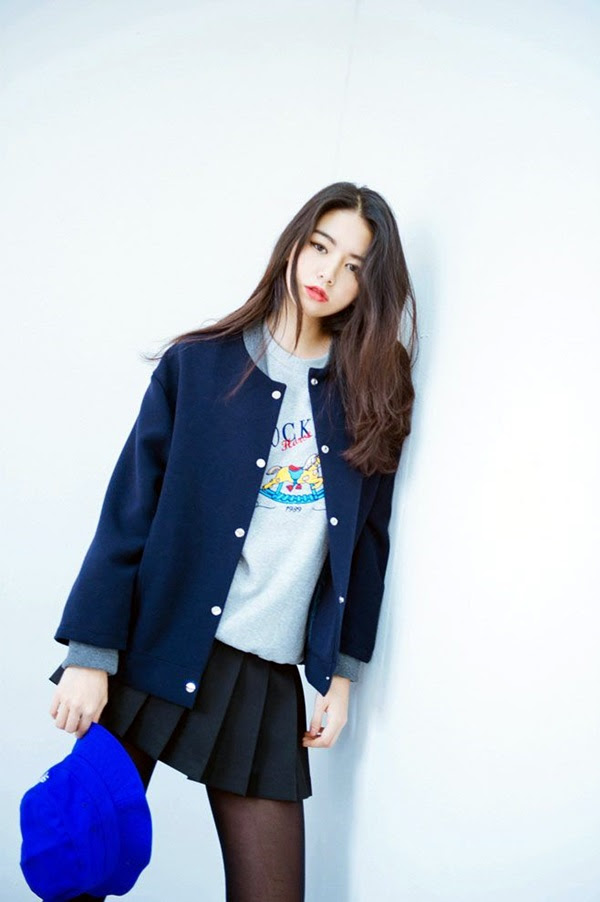 ce78d44cf7f K-Style: 101 Chic College Girl Fashion Outfits to be appealing