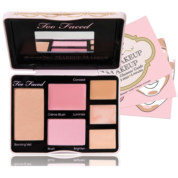 Too Faced The Secret To No Makeup Makeup Fresh Flawless Face Palette