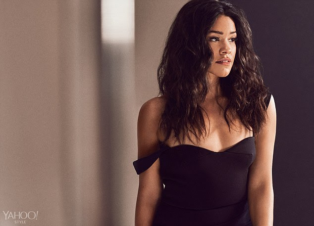 Sultry look: Gina Rodriguez stuns in a new photoshoot with Yahoo Style and talks about her rise to fame on CW's Jane The Virgin