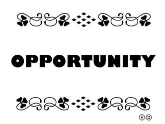 Opportunitiesan Opened Door Or Something You Create One
