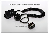 OC1026: Canon OCC with Hardwired Hot Shoe Attached to Flash End