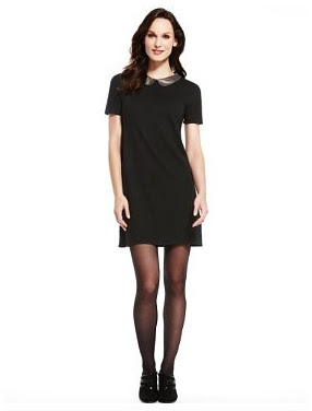 M&S Collection Peter Pan Suedette Collar Knitted Dress - Marks & Spencer - Google Chrome 01092013 220001.bmp