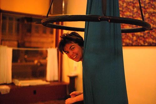 Megan in a Silk in a Lyra