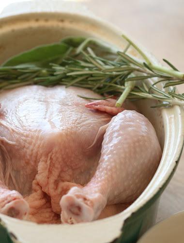 Poulet aux quarante gousses d'ail / Chicken with 40 cloves of garlic / Kana 40 küüslauguküünega