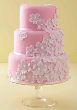 Memorable Wedding: Pink Wedding Cakes