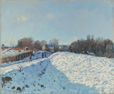 Alfred Sisley, Effet De Neige À Louveciennes