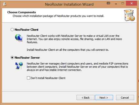 image thumb19 NeoRouter - A Zero Configuration Remote Access & VPN Solution