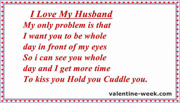 Best Love Messages Quotes For Husband 2018 Happy Valentines Day