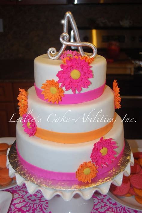 25  best ideas about Gerbera cake on Pinterest   Gerbera