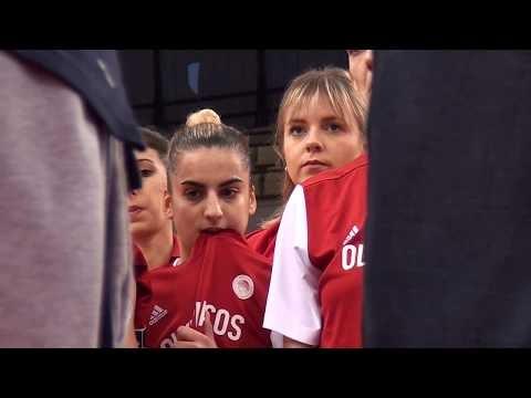Η παρακάμερα του αγώνα Ολυμπιακός-Χατάι για την Ευρωλίγκα γυναικών
