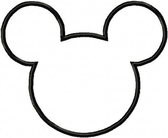 Mickey Mouse Head Template 1.
