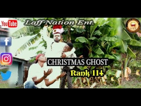 CHRISTMAS GHOST (Laff Nation Ent.) (Rank 114) COMEDY VIDEO