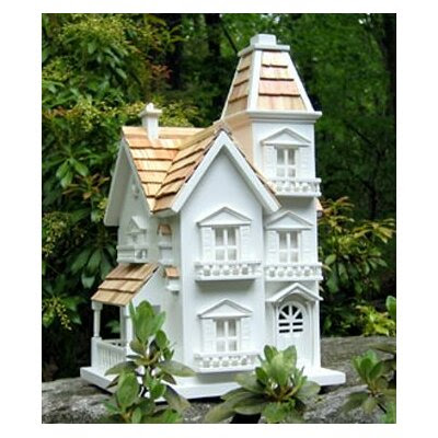 Home Bazaar Classic Series Victorian Manor Bird House | Wayfair
