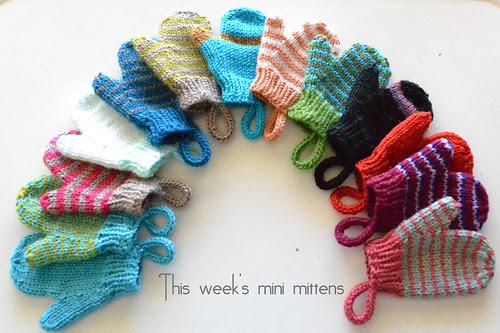 week 3 mini mittens
