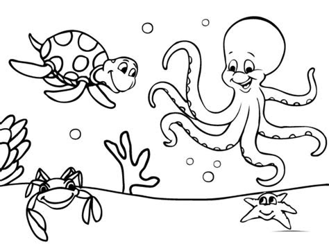 amazing printable ocean coloring pages