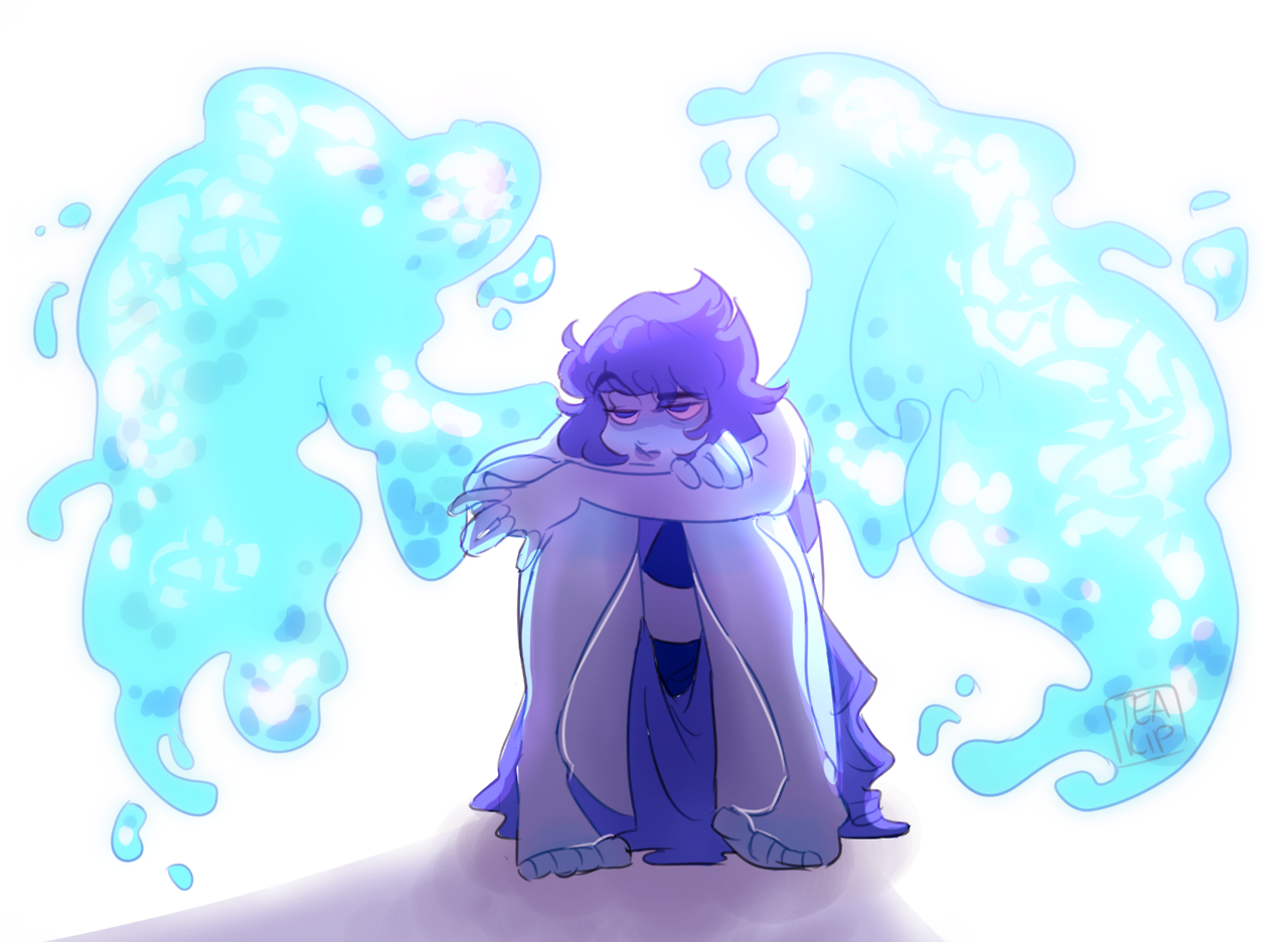 broody bloo edit: once again I forget to add the speedpaint