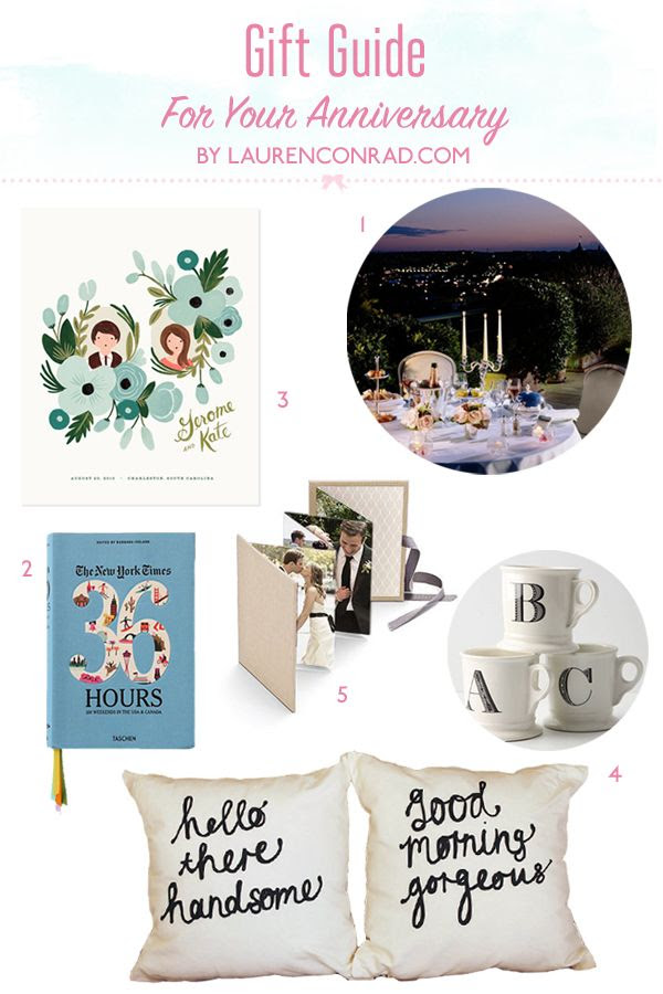 Gift Guide: Anniversary Gift Ideas