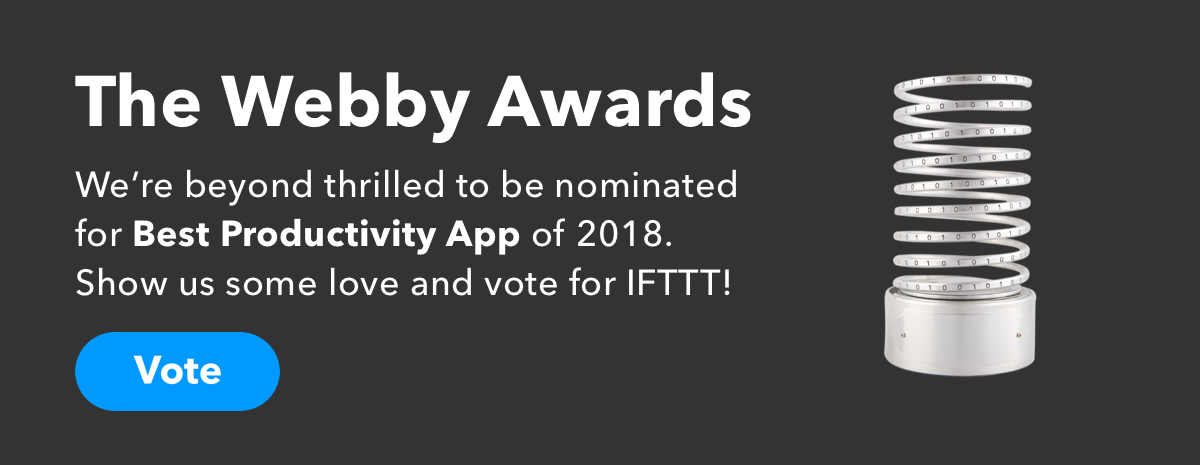 Vote for IFTTT