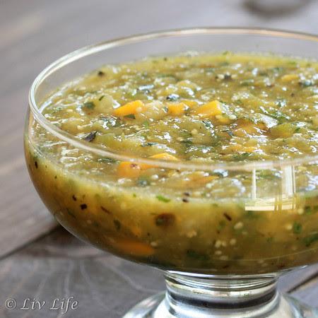 Tomatillo Mango Salsa