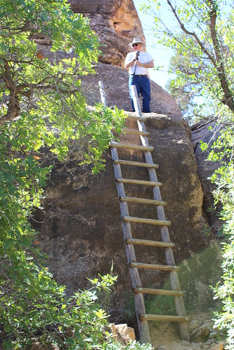 IMG_2685_Doug_on_Ladder_on_Cave_Spring_Trail