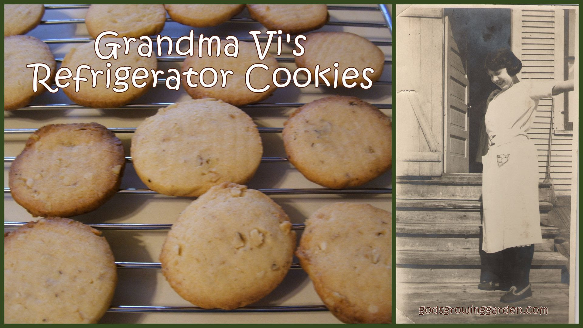 Grandma Vi's Fridge Cookies by Angie Ouellette-Tower for godsgrowinggarden.com photo OldPhotosTowerFam_zps549d9112.jpg