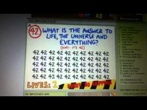 The impossible quiz walkthrough (part1) questions 1-72 ...