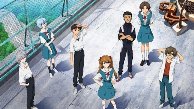 Evangelion: 1.11 You Are (Not) Alone (2007) BluRay Multi Audio [Hindi DDP5.1-Eng DD5.1-Jap DD5.1] 480p, 720p & 1080p HD   10bit HEVC ESub