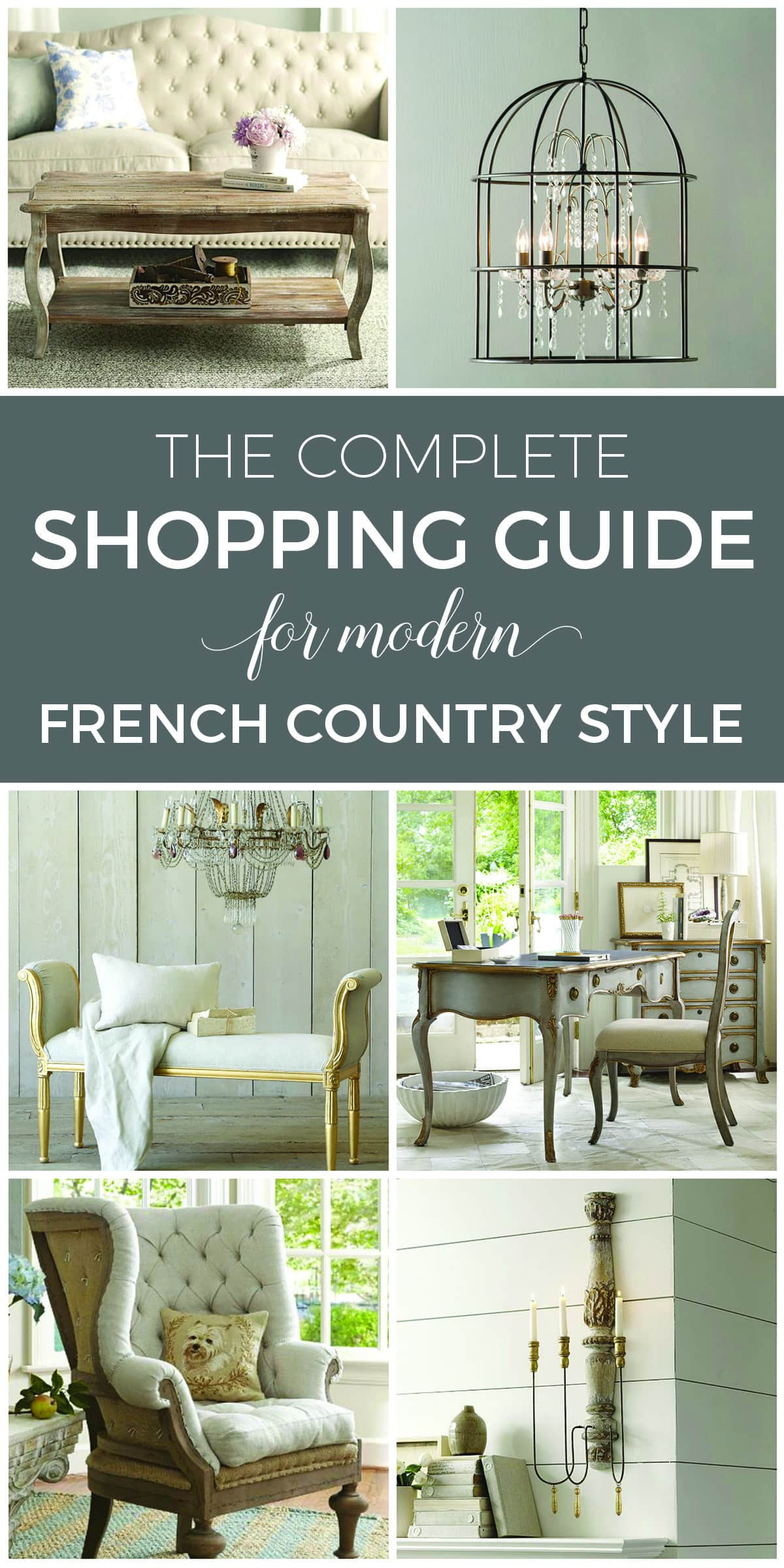 Designthusiasm Shop | Shop my favorites | Shopping guide for modern French Country style
