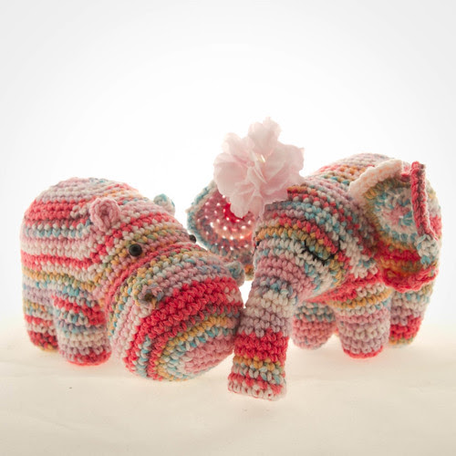 crochet hippo and elephant pattern
